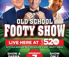 Hotel520 2019 Old School Footy Show